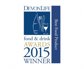 Best Food Product of the Year from Devon Life!