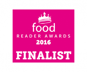 We've been nominated for The Food Reader Awards