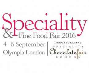 We'll be exhibiting at the Speciality+Fine Food Fair