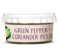 Green Pepper + Coriander Pesto