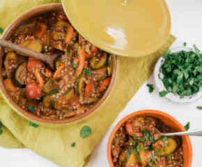 Veggie Hotpot with Buckwheat
